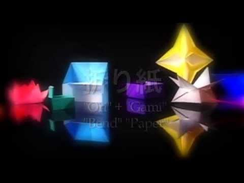 #1 Introduction to Origami- How to make the Paper Cup