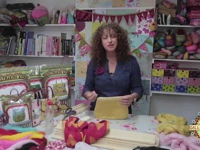 3D Wet Felting Tutorial : How to Felt a 3D Bag by Gillian Harris from Gilliangladrag