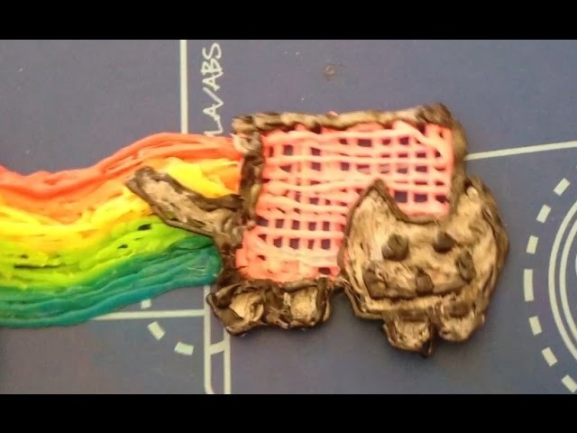 3doodler Creations! (Nyan Cat, Creeper, Chicken Nuggets and Fries)