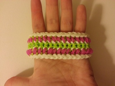 """Amidala"" Rainbow Loom Bracelet. How To Tutorial"