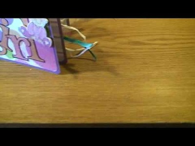 Baby girl mini album scrapbooking, card making, kortmakeri, pyssel