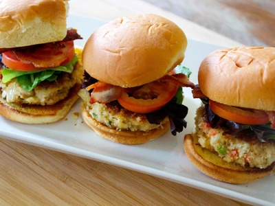 Crab BLT Sliders -  Cooked by Julie - Episode 146