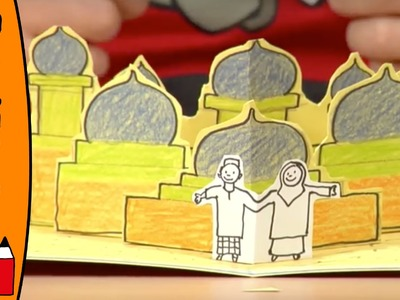 Craft Ideas For Kids - Flying Carpet Pop Up Card | World Of Art | Øistein Kristiansen