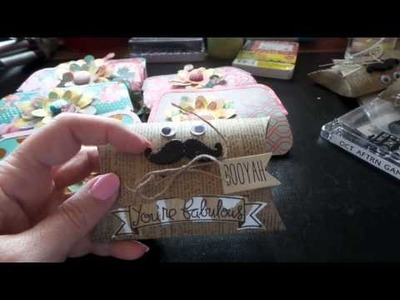 Craft Sale ideas Coin Purse Notebooks & Manly Pillow Boxes!