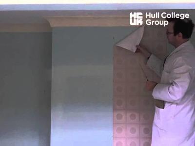 Cutting & Hanging Wallpaper - Hanging Pattern Paper (Vertical)