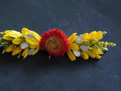 Diy a fresh flower clip