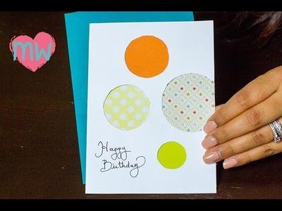 DIY Creative Birthday Card