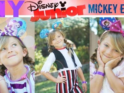 DIY Disney Jr. Mickey Ears Doc, Sofia, and Jake!