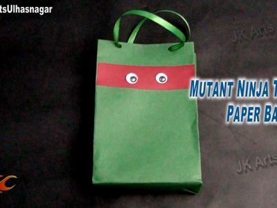 DIY Mutant Ninja Turtles Party Bag | How to make | JK Arts 715