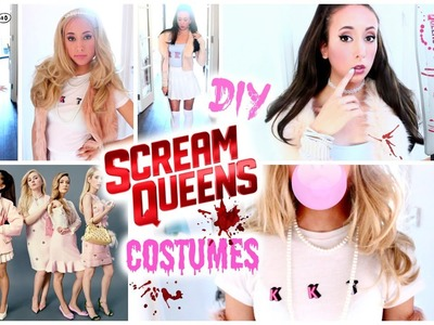 DIY Scream Queens Halloween Costumes! Ariana Grande, Chanel Oberlin.
