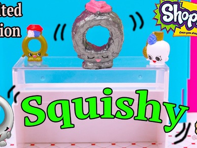 DIY Shopkins Season 3 Limited Edition Ring-A-Rosie SQUISHY TOY Craft Do It Your Self How To Video
