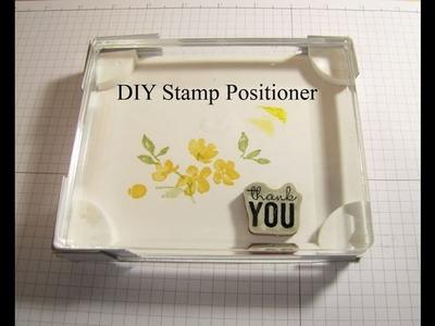 DIY Stamp Positioner