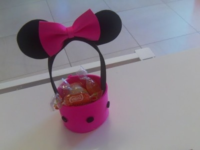 Dulcero de Minnie Mouse super facil