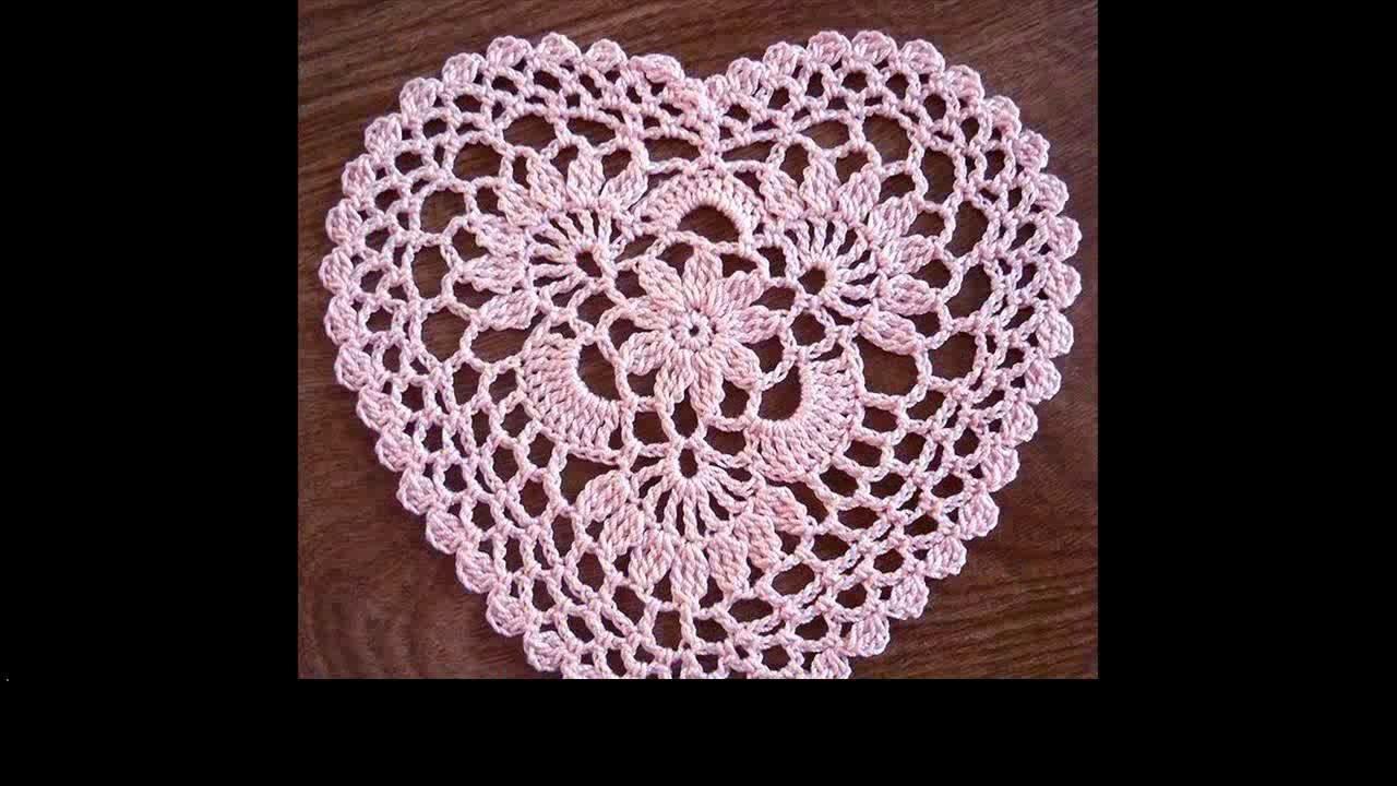Easy crochet heart for beginners
