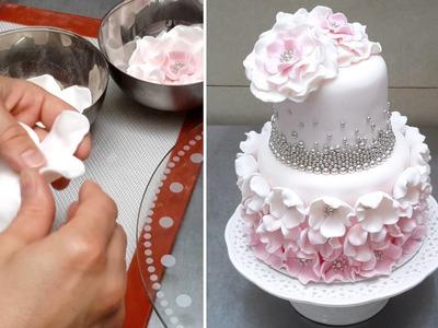 ELEGANT CAKE How To by CakesStepbyStep