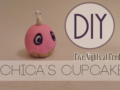 FNaF Chica's Cupcake [Polymer Clay]