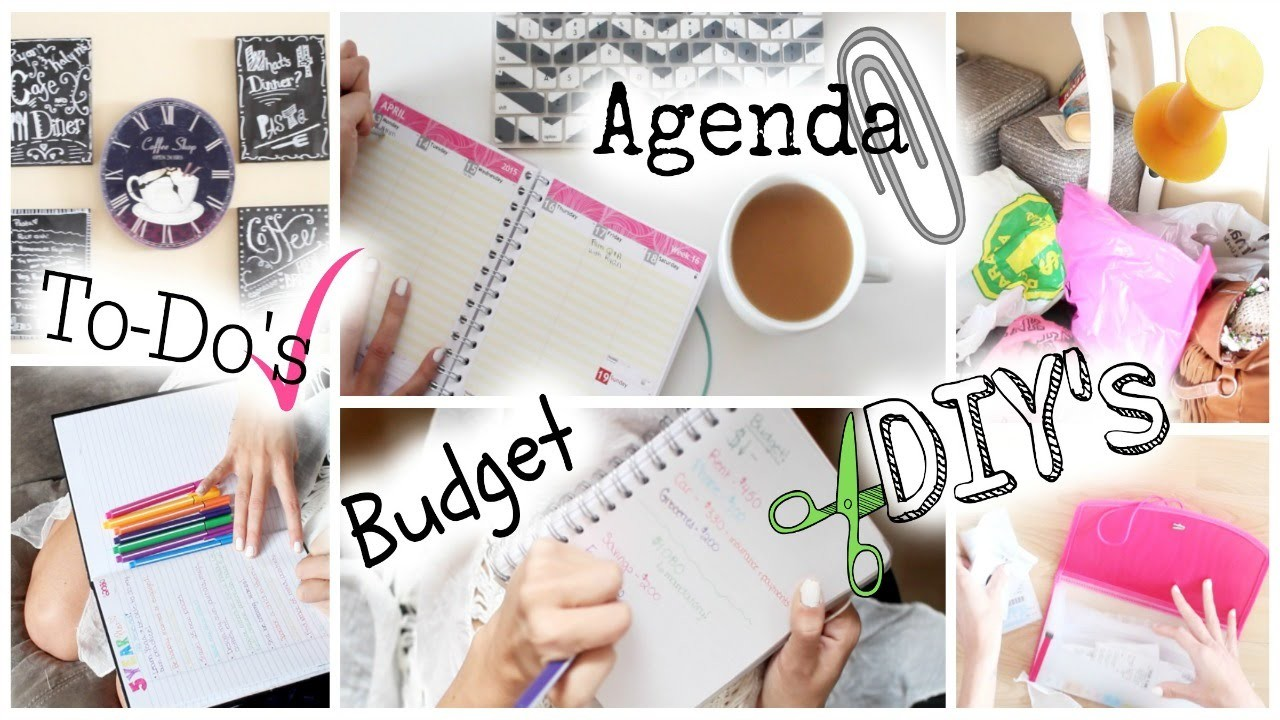 Get Your Life Organized! Tips & Easy DIY's