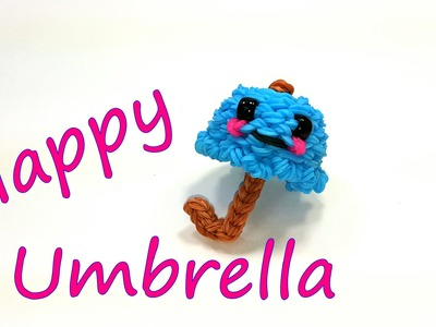 Happy Umbrella Tutorial by feelinspiffy (Rainbow Loom)