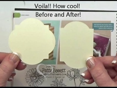 How to Alter Stampin Up Framelits