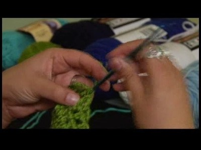 How to Crochet a Scarf : Finishing Touches on Main Crochet Scarf