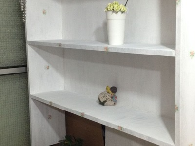 How To DIY Update An Old Book Shelf - DIY Home Tutorial - Guidecentral