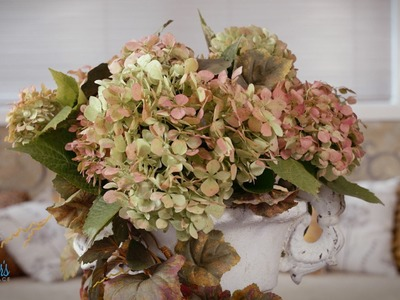How to Dry Hydrangeas with Glycerin