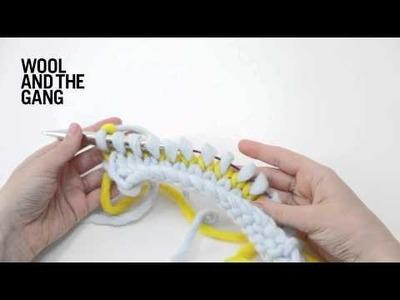 How to Knit Single Row Stripes