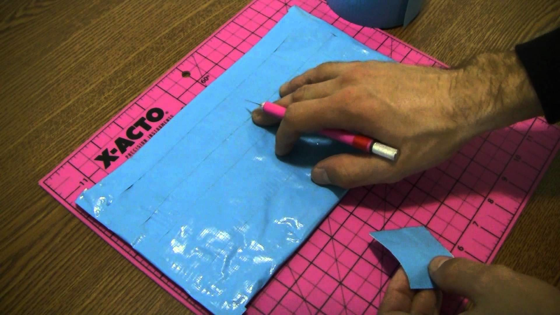 How to make a Duct tape hot pan holder