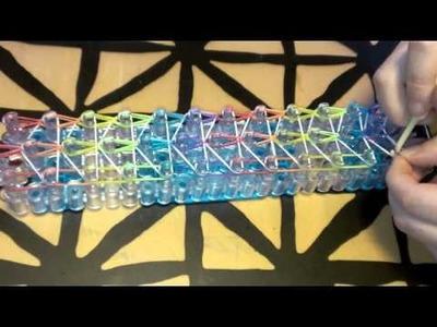 How to make a Rainbow Loom Waterfall Bracelet