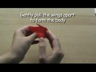 How to make an Origami Crane: 5000cranes.com (HQ)