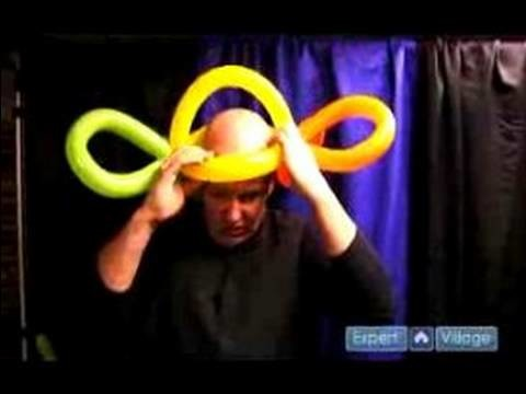 How to Make Balloon Hats : How to Make a Balloon Double Bow Hat