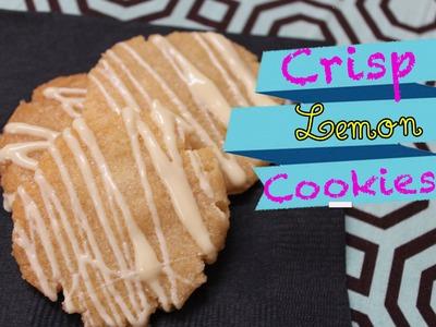 How to make Crisp Lemon Cookies