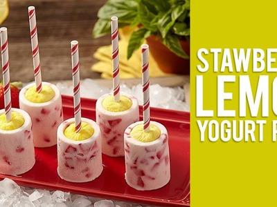 How to Make DIY Frozen Yogurt Popsicles