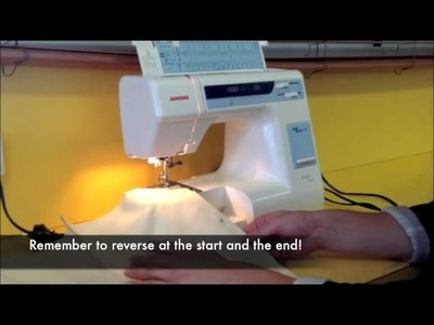 How to sew boxer shorts part 1
