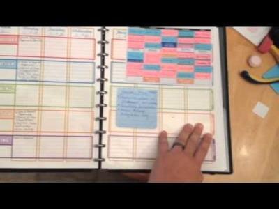 Intro to Omni Teacher planBOOK - DIY Teacher planner using Arc Notebook