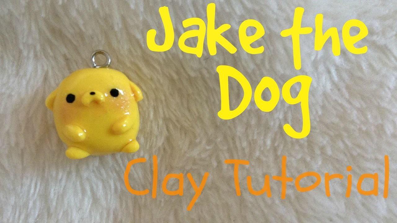 Jake the Dog | Polymer Clay | Kawaii Moon ɞ