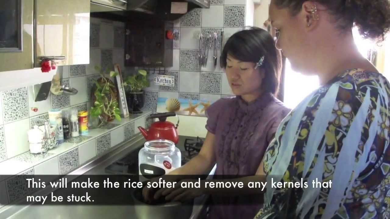 Manga University presents .  How to Cook Sushi Rice