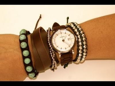 Mix and Match Bracelets   ShowMeCute