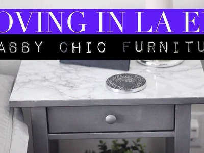 Moving In LA Ep.3 | Shabby Chic Furniture (DIY)