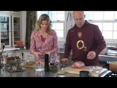 New Tracy Porter Cooking Video.  Pork Loin Roast Sandwiches