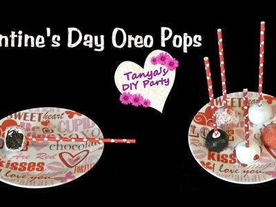 Oreo Cake Pops No Bake Valentine's Day - DIY