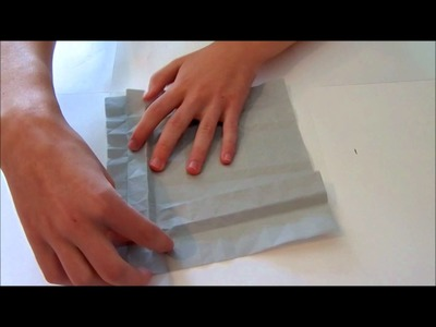Origami Instructions: Sandclover Tessellation (Martin Sejer Andersen) - Part One