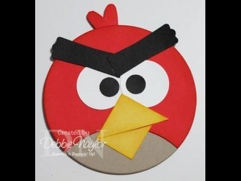 Paper Angry Birds