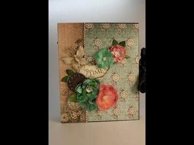 Part 3 - Learn to Make a Mini Album - Designs by Shellie