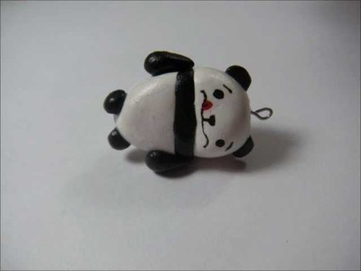 Polymer Clay Awkward Panda Tutorial