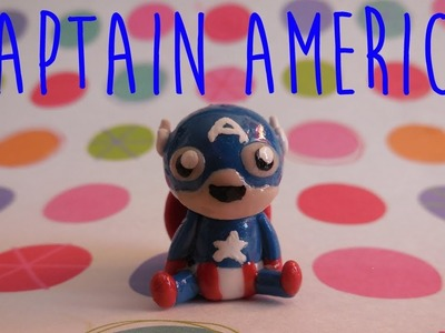 Polymer Clay Captain America