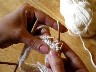 Priscilla's Slippers Basketweave Stitch Video