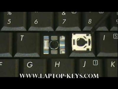 Replacement Keyboard Key HP Compaq Repair Guide