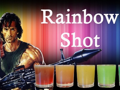 TUTO COCKTAIL - RAINBOW SHOT  (comment faire un rainbow shot)