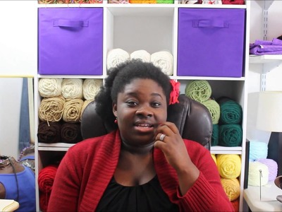 Yarn Talk #16 - Finish Crochet Projects and My Craft Booth Story